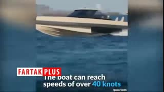 قایقی دوزیست با امکاناتی خاص