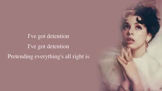 K - 12  melanie martinez detention