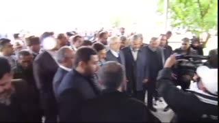 حضور دکتر اردکانیان، وزیر نیرو و آشناگر، استاندار سمنان در شهر ایوانکی