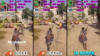 مقایسه پردازنده های (cpu) AMD و اینتل در اجرای گیم