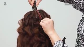 آموزش مدل مو دخترانه فر زبرا- مومیس مشاور و مرجع تخصصی مو