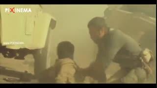 سکانس فیلم تنگه ابوقریب ، مقاومت نیروهای ایرانی در کانال (+۱۵)