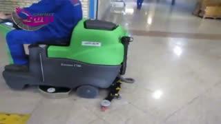 اسکرابر سرنشین دار | اسکرابر خودرویی