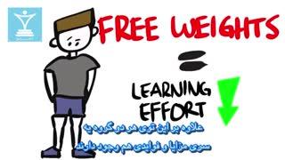 بدنسازی با وزنه یا وزنههای آزاد