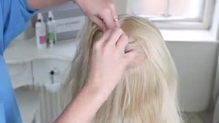آموزش مدل مو دخترانه بافت پیچی- مومیس مشاور و مرجع تخصصی مو