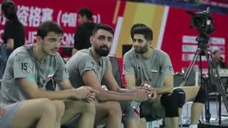 سومین روز حضور تیم ملی والیبال ایران در جیانگمن، از دریچه دوربین فدراسیون