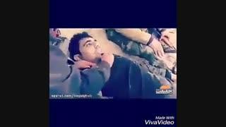 لحظه جان دادن شهید مدافع حرم(توضیحات)