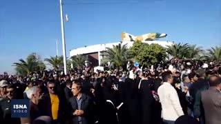 تشییع پیکر شهید «ابومهدی المهندس» در آبادان و خرمشهر
