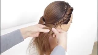 آموزش مدل مو دخترانه ضربدری- مومیس مشاور و مرجع تخصصی مو