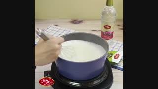 آشپزی با سحرخیز - طرز تهیه فرنی