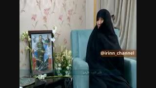 حضور خادمان بارگاه منور رضوی در منزل شهید زمانی نیا(یکی از شهدای مقاومت اسلامی و از همراهان شهید سلیمانی)