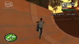 راهنمای BMX Challenge در بازی gta sanandreas