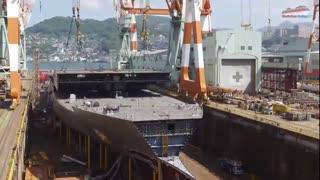 کشتی کروز چطور ساخته می شود