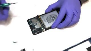 آموزش تعویض گلس گوشی  Samsung Galaxy A50
