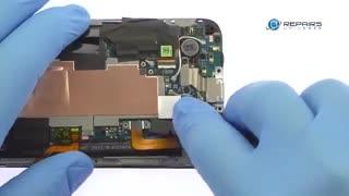 آموزش تعویض گلس گوشی HTC 10