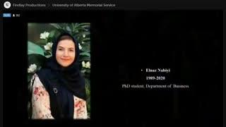 مراسم یادبود پرکشیدگان پرواز تهران کیاف از دانشگاه آلبرتا - قسمت 8 (آخر)