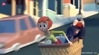 میکسی زیبا از انیمیشن Jinxy Jenkins, Lucky Lou