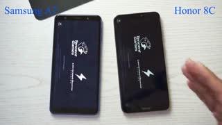 گوشی a10 vs honor 8c