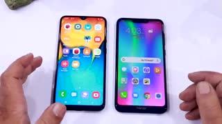 مقایسه گوشی honor 8c با a20 s
