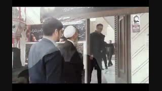 سرکشی آیت الله دکتر اعرافی از خانواده های شهدای هواپیمای اکراینی