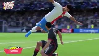 مسخره ترین و خنده دارترین اتفاقات سال 2019 بازی fifa 20