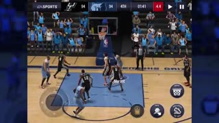 تریلر بازی بسکتبال ان بی ای لایو - NBA Live اندروید
