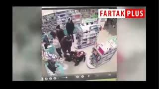 سرقت فامیلی در روسیه با شرکت کودک خردسال خانواده!