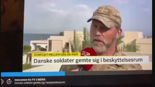Interview with Danish soldier who was in Al Assad airbase during Iranian missile attack