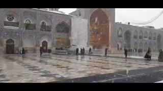 پخش صلوات خاصه هر روزه امام رضا(ع)؛امروز در بهشت برفی طنین انداز شد