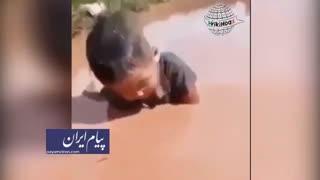 ویدئوی «بچه بلوچ» جعلی از آب در آمد