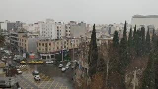 اولین برف شیراز 98.11.02