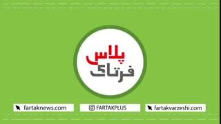 فورهند دیدنی علی کریمی در کلکل پینگپنگی با جواد کاظمیان