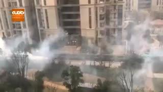 ضد عفونی شهر شانگهای چین
