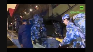 ورود 450 پزشک نظامی به شهر ووهان چین برای مبارزه با کروناویروس