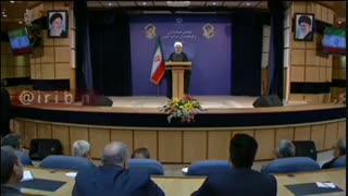 روحانی:  با این فشار ها کسی فکر نمی کرد بتوانیم این قدر دوام بیاوریم