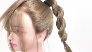 آموزش مدل مو دخترانه دانگو- مومیس مشاور و مرجع تخصصی مو