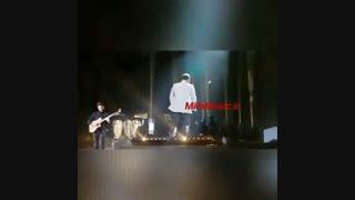 کنسرت بابک جهانبخش اجرای آهنگ من هستم
