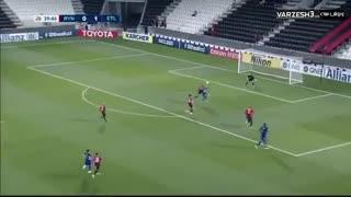 خلاصه بازی جذاب و پرگل استقلال 5  الریان قطر 0 از مرحله پلی آف لیگ قهرمانان آسیا