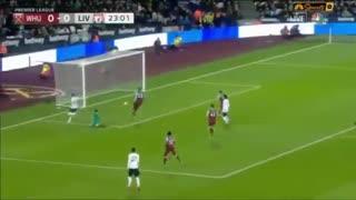 خلاصه بازی وستهم 0 - لیورپول 2 از بازی معوقه هفته هیجدهم لیگ برتر انگلیس