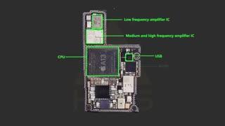 نکات ویژه تعمیر آیفون 11Pro در مقایسه با آیفون X و XS  تعمیر مادربرد آیفون 11Pro