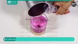 مراحل ساخت شمع