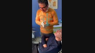 بهبود روند جراحی دندان در  دندانپزشکی با دستگاه DBD PLASMA