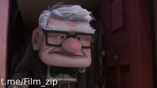 کلیپ زیبای ملاقات راسل و کارل در انیمیشن Up 2009