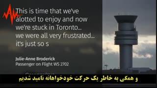 شوخی با ویروس کرونا در هواپیما باعث فرود اضطراری هواپیما گردید!!