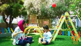 آموزش بازی محور در مهد کودک نارنج
