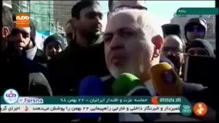 ظریف: در مورد انقلاب ایران ۴۱ سال است که اشتباه میکنند