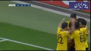 خلاصه بازی العین امارات صفر - سپاهان اصفهان 4
