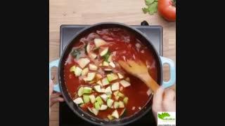 نحوه تهیه سوپ سبزیجات خوشمزه - سبزی لاین