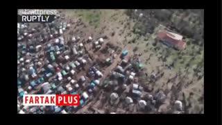 زندگی جهنمی پناهجویان در کمپ ممنوعه لیسبوس در یونان