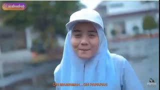 برداشت اهنگی از گروه بی تی اس توسط دختران سرود اسلامی -- BTS (Boy With Luv) VERSI HIJRAH (NGAJ   COVER PARODI PUTIH ABU-ABU)